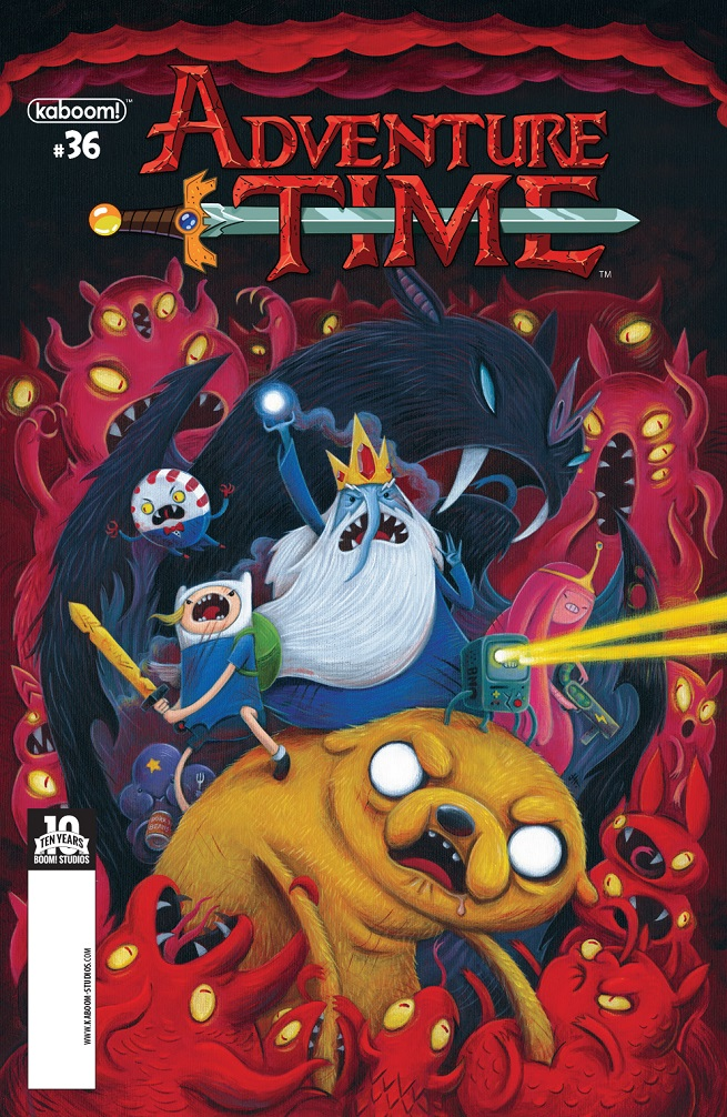 Adventure Time Inside Cover #36