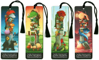 Word Travels Bookmarks