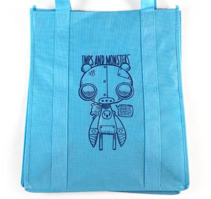 RoboBear Tote Bag