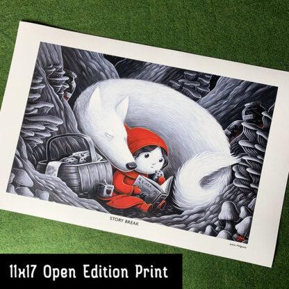 Story Break 11x17 print