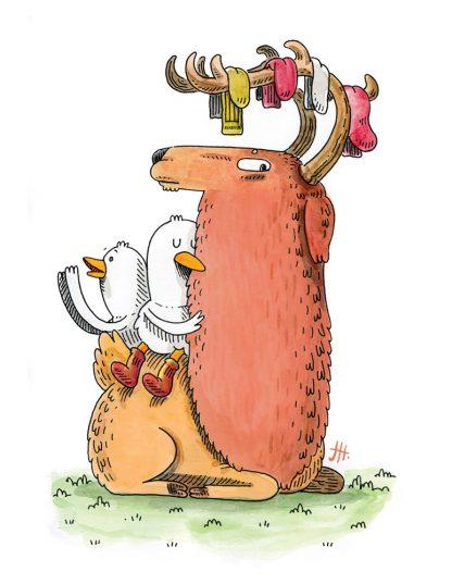 The Sock Elk